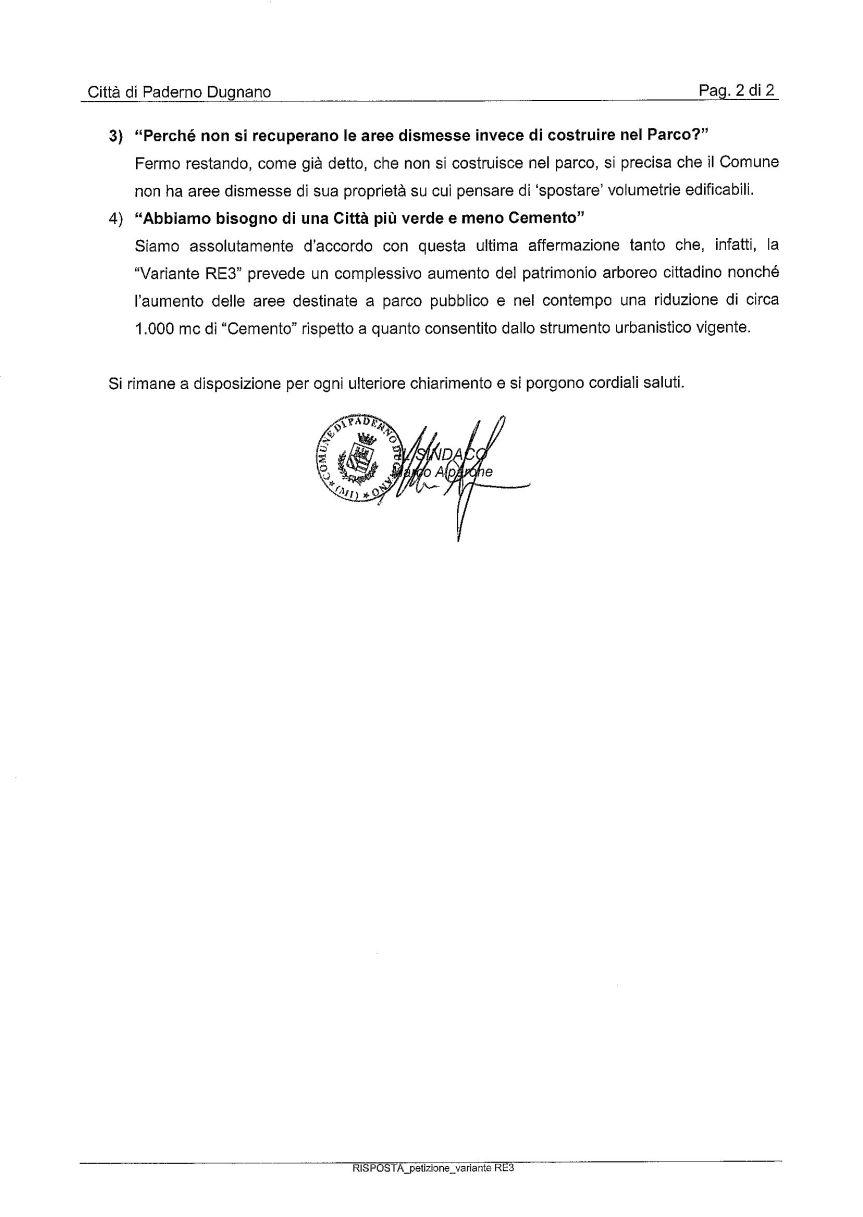3a_riscontro Sindaco a petizione_Pagina_2