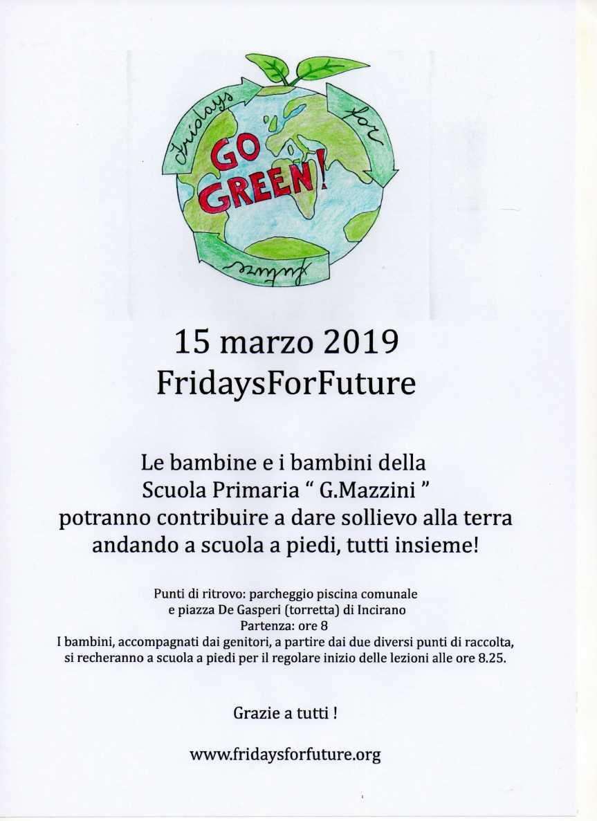 FRIDAYS FOR FUTURE. La  scuola Mazzinic'è!